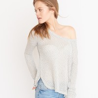 Light Boatneck Sweater