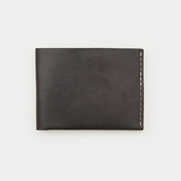 Bison No. 6 Wallet - Jet Top