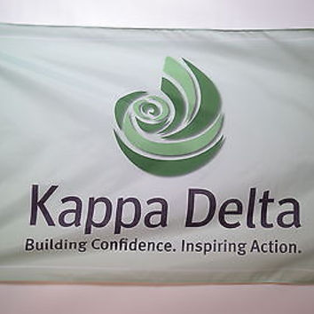 Kappa Delta Sorority College Licensed Flag 3x5
