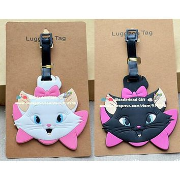 2pc Sweet Cat Luggage Tag