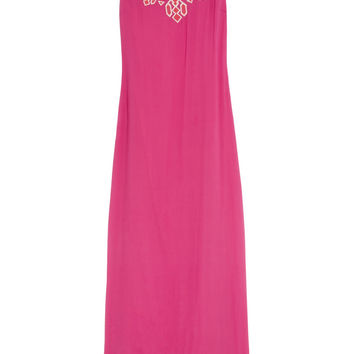ALICE by Temperley|Gisel embroidered crepe maxi dress|NET-A-PORTER.COM