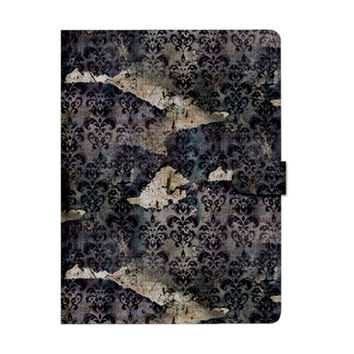 Vintage Wallpaper Apple iPad 3/4 Woven Pattern Leather Folio Case