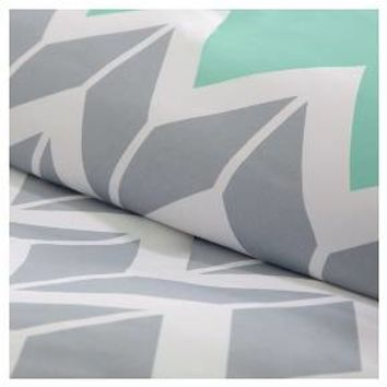 Chevron Print Darcy Multiple Piece Duvet Cover Set