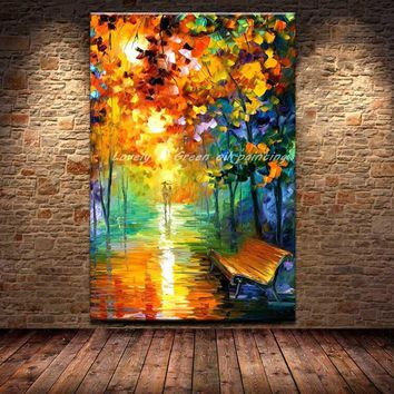 Large Hand Oil Paintings On Canvas Wall Art
