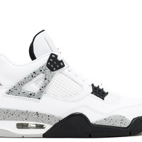 "AIR JORDAN 4 RETRO OG ""WHITE CEMENT 2016 RELEASE"" BASKETBALL SNEAKER"