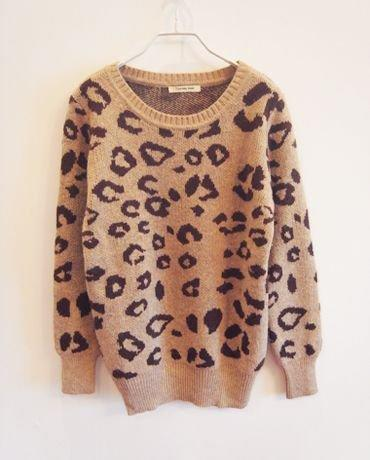 Leopard Knitted Sweater From Clothless On Storenvy Beauty