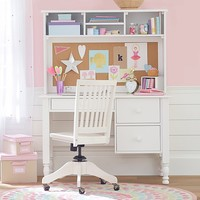 Catalina Storage Desk & Tall Hutch