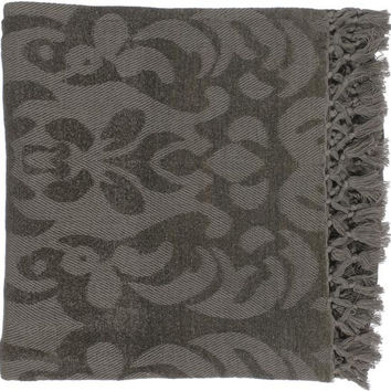 Tristen 50 by 70 inches Woven Viscose Throw - Home Decor | Surya
