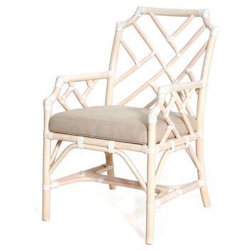 Francis Armchair, Cream, Arm Chairs