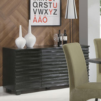 Stanton Black Contemporary Server | Overstock.com Shopping - The Best Deals on Buffets