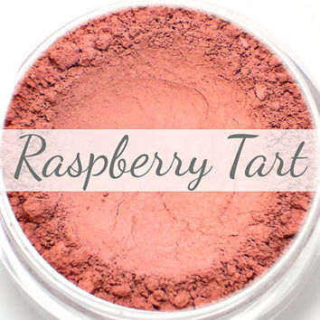 "Mineral Blush Sample - ""Raspberry Tart"" (bright raspberry pink blush, matte finish) - Vegan"