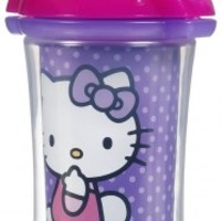 Munchkin Straw Cup, Insulated, Hello Kitty by Sanrio, 9 oz, 12+ Months, 1 cup