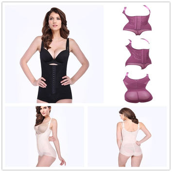 Tummy Suit Control Girdler Underbust Slimming Shapewear Full Body Shaper Firm Underwear Slimming Bodysuit Tummy Control 4516 = 1696745540