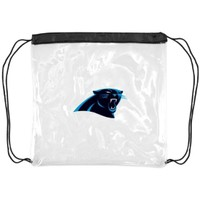 Little Earth Carolina Panthers Clear String Bag