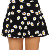 Papaya Clothing Online :: DAISY FLORAL FLARE SKIRTS
