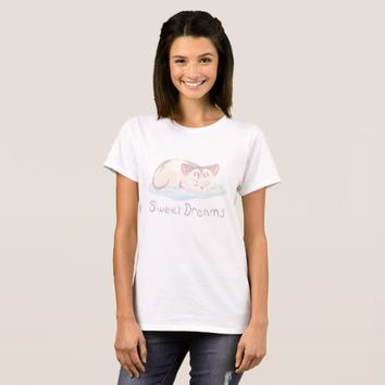 Dreaming Kitten T-Shirt