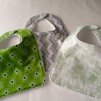 Geek Baby bibs,  Baby Genius bibs, Baby genius baby bibs, Science baby bibs, Black and gray baby bibs,Terry cloth backed baby bibs,set of 3.
