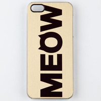 Zero Gravity Cat Call Iphone 5 Case Gold One Size For Women 22218762101