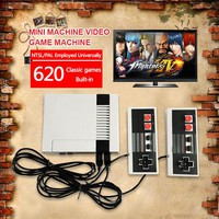 ARRKEO Nintendo Video Game Console Built-in 620 Games Optional HD Or AV OUT