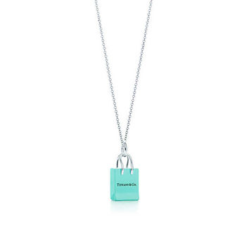 Tiffany & Co. - Tiffany & Co.® Shopping BagCharm and chain