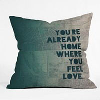 Leah Flores Home 1 Throw Pillow