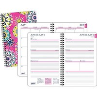 2014/2015 Staples® Academic Weekly/Monthly Planner, 5 1/2 x 8 1/2
