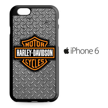Harley Davidson Motor Logo iPhone 6 Case