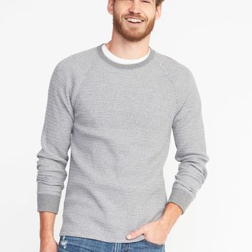 Soft-Washed Chunky-Knit Thermal Sweater for Men | Old Navy