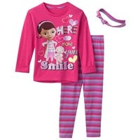 Disney Doc McStuffins ''Here to Make You Smile'' Tunic & Leggings Set - Girls