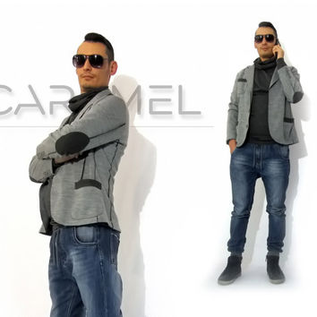 Man's Jacket/ Casual Men's Suit/ Man's Clothing/ Extravagant Top/ Jacket/ Sports jacket by CARAMEL fs - MT-6115
