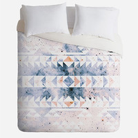 Deny Designs Arctic Gold Tribal Queen Duvet Cover Multi One Size For Women 27336195701