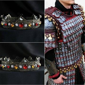 Dark Times Mens Crown Medieval Tudor Gothic Cosplay