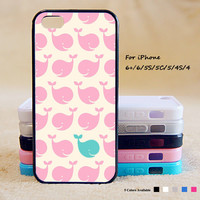 Cute Little Whale Phone Case For iPhone 6 Plus For iPhone 6 For iPhone 5/5S For iPhone 4/4S For iPhone 5C3 iPhone X 8 8 Plus