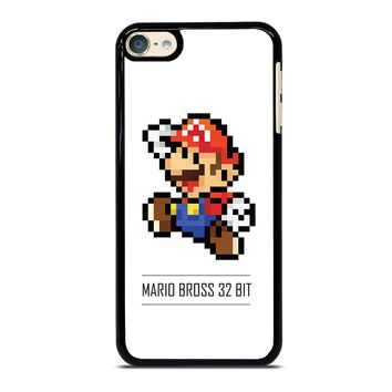 MARIO BROSS PIXEL 32 BIT iPod Touch 4 5 6 Case Cover