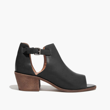 The Pierce Open-Toe Cutout Boot