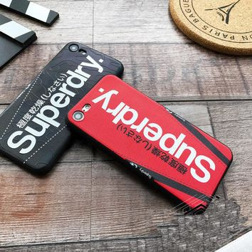 HOT Selling SUPERDRY Phone Cover Case For iPhone 6s Plus 7 8 plus iPhone X