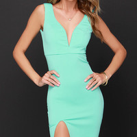 Tidbit Vivacious Mint Dress