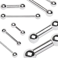 316L Surgical Steel Barbell with Balls