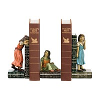 Child Games Bookends - Pair