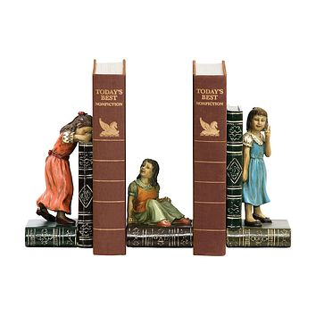 SET CHILD GAMES BOOKENDS #93