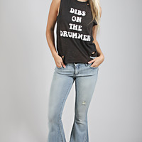 mamie ruth: dibs on the drummer tank