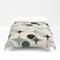 RETRO Pattern #society6 #decor #buyart Duvet Cover by mirimo