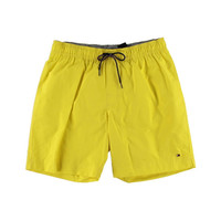 Tommy Hilfiger Mens Partially Lined Signature Swim Trunks