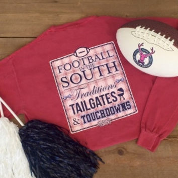 Jadelynn Brooke: Football in the South Long Sleeve