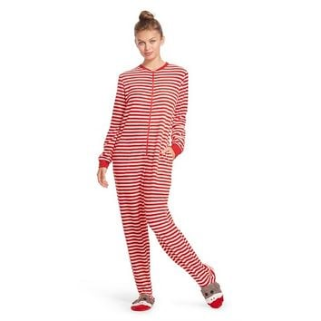 NN Footie Pajama Monkey Red