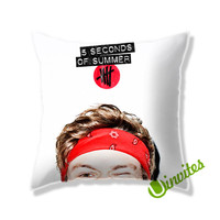 Irwin 5sos Square Pillow Cover