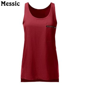 Messic New Hot Summer Loose Fitness Tank Tops S-6XL Big Plus Size Ladies Cotton Tunic Scoop Neck Slim Tops Casual Woman Clothes