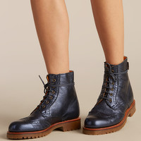 RODRIGUEZ METALLIC LEATHER BOOT