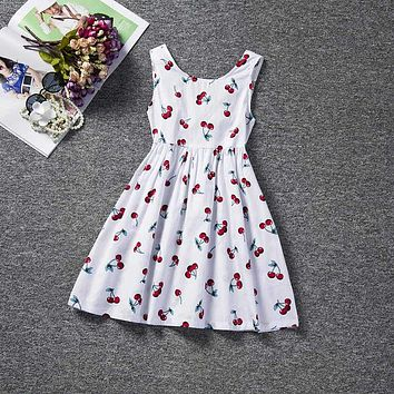 Baby Girl Dress Kids Clothes 2018 Brand Children Princess Dresses For Girls Clothes Floral Print Christmas Dress For Little Girl