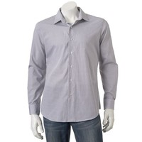 Apt. 9 Modern-Fit Geometric Woven Casual Button-Down Shirt